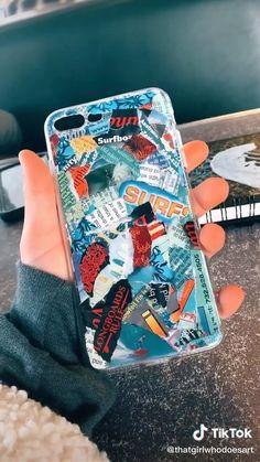 ☆my top Phone case diy Diy Crafts Hacks, Diy Crafts Videos, Crafts To Do, Diy Coque, Diy Canvas Art, Diy Phone Case, Iphone Cases, Phone Covers, Diy Painting