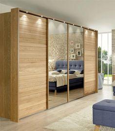 Top 30 Modern Wardrobe Design Ideas For Your Small Bedroom Sliding Door Wardrobe Designs, Wardrobe Design Bedroom, Bedroom Cupboard Designs, Bedroom Cupboards, Modern Wardrobe, Closet Bedroom, Wardrobe Bed, Wardrobe Ideas, Closet Ideas