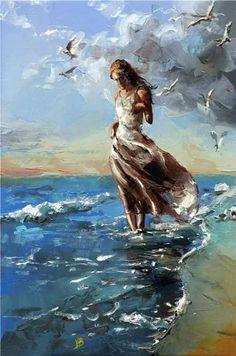 Art by the sea. #Romance #Beauty #Love #Art