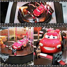 My birthday cake~ Lightning McQueen!