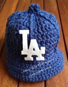4dd4e5c100842 Los Angeles Dodgers baby baseball cap