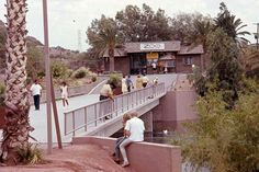 Entrance of The Phoenix Zoo. Late 1960's