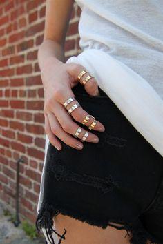 Full Finger Ring Set