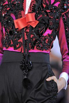 fromobscuretodemure:    Details: Christian Lacroix Haute Couture F/W 2008-2009.