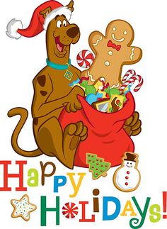 From Scooby-Doo. A Scooby-Doo Christmas. Scooby Doo Ruh Roh, New Scooby Doo, Scooby Doo Images, Scooby Doo Pictures, Christmas Cartoon Characters, Christmas Cartoons, Live Action, Walt Disney, Cute Christmas Wallpaper