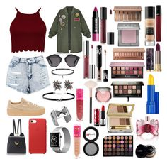 """Sin título #479"" by frichu on Polyvore featuring moda, WithChic, Christian Dior, Boohoo, Puma, Giani Bernini, Alexis Bittar, BERRICLE, Jeffree Star y Morphe"