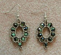 Linda's Crafty Inspirations: Bracelet of the Day: Waves of Wonder - Garnet