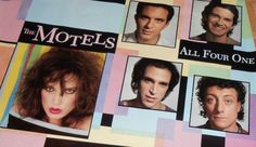The Motels Promotional Poster https://www.facebook.com/FromTheWaybackMachine