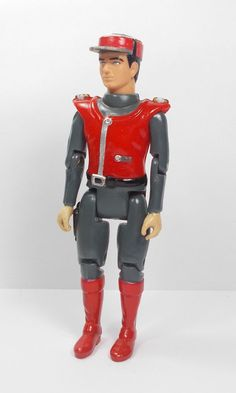 Captain Scarlet Action Toy Figure - ICT ENT. 1993 (1)