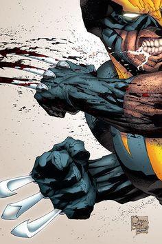 Wolverine: Colors by garstu on deviantART