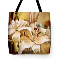 Tote Bag featuring the painting Lilly by Avril Thomas Buy Gifts Online, National Portrait Gallery, Tote Bags, Original Paintings, Tote Bag, Totes