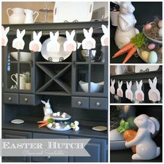 Clean & Scentsible: Easter Buffet and Hutch