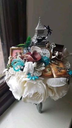 Looking for something completely different for your wedding? Then look no further as Maddison Rocks Floral Sculpture specialises in creating bespoke one off designs. Bridesmaid Bouquet, Wedding Bouquets, Floral Wedding, Wedding Flowers, Disney Inspired Wedding, Alternative Wedding, Marie, Etsy Seller, Wedding Inspiration