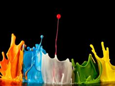 Color Explosion - 3D Digitlal Art Wallpaper