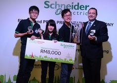 Malaysian students win 'Go Green in the City' awards from Schneider Electric  >>Schneider Electric announces the winners of its third annual University Challenge themed 'Go Green in the City,' which includes finalists from University Tunku Abdul Rahman and University of Nottingham.