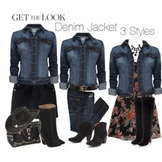 """Denim Jacket Style!"" by mharvey on Polyvore"