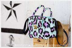 DIY Leopard Painted Bag photo 5 by Trinkets in Bloom