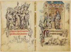 The Hours of Jeanne d'Evreux, Queen of France, ca. 1324/8, illuminator: Jean Pucelle (ca. 1300–55)