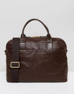 Fossil Laptop Bag in Leather