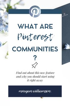 Everything you need to know about Pinterest Communities - what are Pinterest Communities and how can I use them? Learn how to trigger the feature Amazon Publishing, Romance Authors, Le Web, Pinterest For Business, Super Excited, Facebook, Pinterest Marketing, News Blog