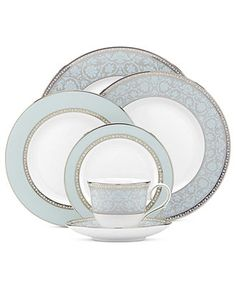 Lenox Dinnerware, Westmore Collection - Fine China - Dining & Entertaining - Macy's $200