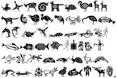 Fontscape Home > Picture Styles > Ethnic Native American Symbols, Native American Design, Native American Pottery, Tattoo Coloring Book, Tribal Patterns, Gourd Art, Aboriginal Art, Native Art, Tribal Art