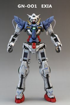 MG GN-001 Gundam Exia: Painted Build. Photoreview No.20 Big Size Images   GUNJAP