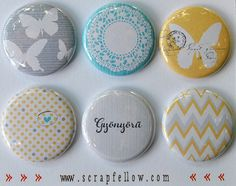 07-gyonyoru-a Cubicle Ideas, Decorative Plates, Goodies, Scrapbook, Buttons, Crafty, Jewels, Badges, Magnets