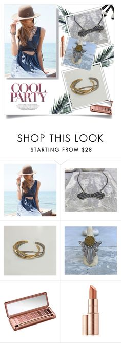 """""""https://www.etsy.com/shop/OwnStudiobyEfrat 5"""" by ozil1982 ❤ liked on Polyvore featuring Urban Decay and Estée Lauder"""