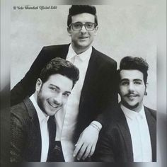 My three handsome Italian friends. Im so grateful for them and their music and how it/they have improved the quality of my life!