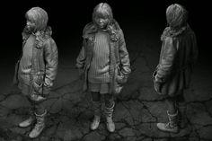 kid, Izabela Zelmańska on ArtStation at http://www.artstation.com/artwork/kid-1987b90d-eaa8-4026-8ba9-c00d808e47e4