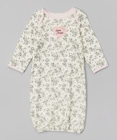Loving this Ivy Little Angel Gown - Infant on #zulily! #zulilyfinds