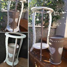 Blog sobre la técnica del decoupage. Trabajos en decoupage. Reciclaje de objetos y muebles. Tutoriales de decoupage.