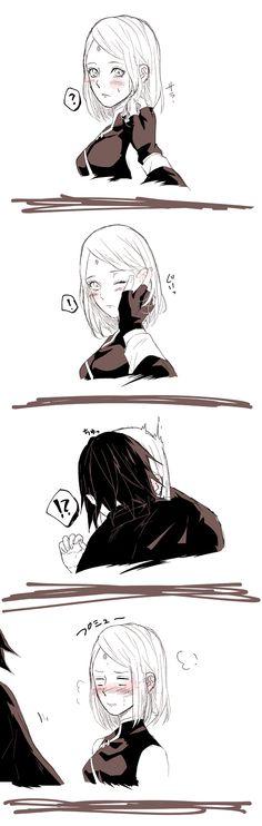 Sério, sério, sério eu não entendo esse Sasuke