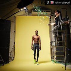 Image by @johnmahood | A sneak preview of our Olympics cover shoot with @gomofarah @hbsauce14 #rio2016 #olympics