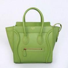 e7bdf41aa2 Wholesale Réplique CELINE BAGAGES MICRO en veau vert pale 2299D - €228.60    réplique sac