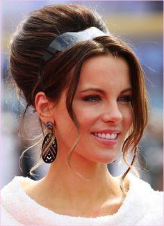 10 ideias de penteados: Kate Beckinsale