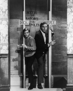 Burt Ward & Adam West in the 1966 Batman<3 <3