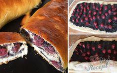 Makový závin s višněmi | NejRecept.cz Strudel, No Bake Cake, Sweets, Fish, Cookies, Baking, Ethnic Recipes, Poppy, Sweet Pastries