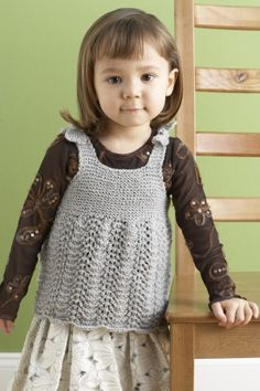This versatile sparkling dress is darling on any little girl, and as she gets bigger, the straps can be adjusted so she can wear it as a top (as shown)!