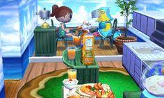 Frita's fast-food restaurant. Animal Crossing Happy Home Designer 2 on animal crossing home ideas, sims home designer, nintendo home designer,