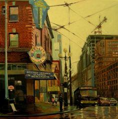 Robin Weiss #art #cityscape
