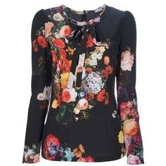 Dolce Gabbana Floral Blouse