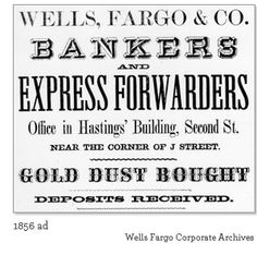 Wells Fargo ad, 1856 Pony Express, Mystery Dinner, Great Lakes Region, Trigger Happy, North Dakota, Old West, Primitives, Wells, Party Time
