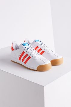 adidas Samoa Perforated Gum Sole Sneaker
