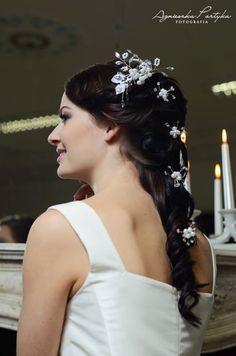 Ślubne ozdoby do włosów z kolekcji Decoris & Art
