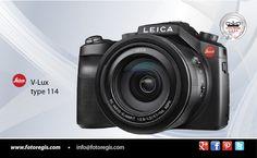 """CÁMARA V-LUX TYPE 114 LEICA La nueva cámara digital compacta combina una lente de alto rendimiento, cualidades de imagen superior y alta velocidad en una forma compacta y manejable. Lente super-zoom ofrece un amplio espectro de capacidades de fotografía macro a extremo teleobjetivo, en combinación con su paquete versátil de características. """"La cámara compacta universal para los viajes, la vida silvestre y la fotografía deportiva"""""""