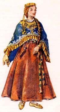 latgalian costume - Поиск в Google