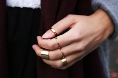 gold rings all over
