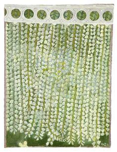 Robert Zakanitch, Hanging Gardens Series (Oyster Lilies)